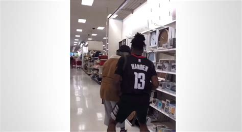 Comedian Imitates James Harden, Scares People At Target ...