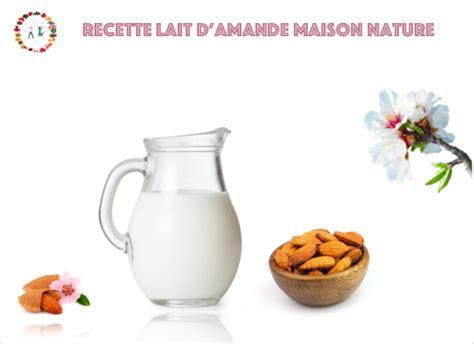 recette lait d amande maison recette lait d amande maison naturel synergie alimentaire