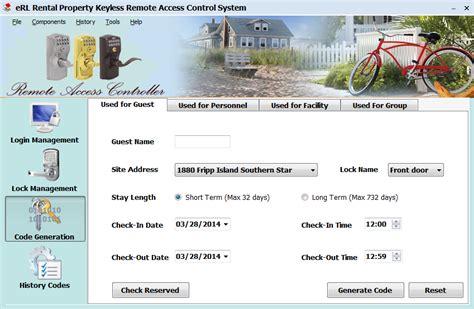 Erentallock Electronic Vacation & Airbnb Rental Lock Erl