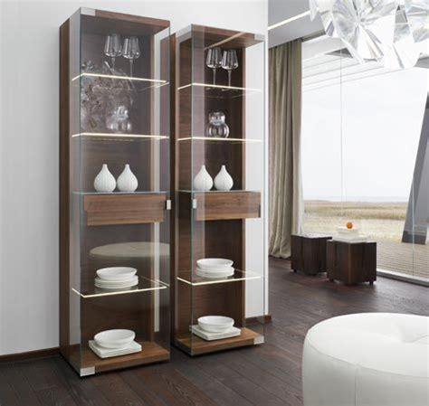 stylish wood  glass nox display cabinets  team