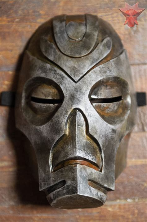 Skyrim Inspired Morokei Konahrik Dragon Priest Mask