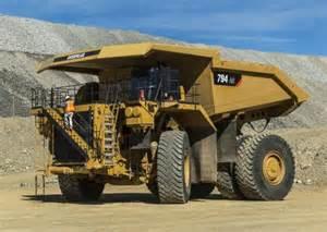 cat truck caterpillar 794 ac mining truck construction equipment