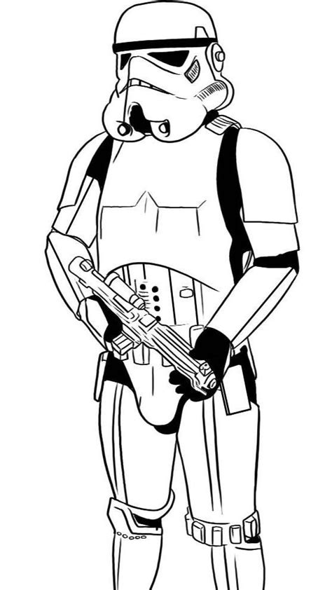 Clone Trooper Kleurplaat by Stormtrooper Coloring Page Wars