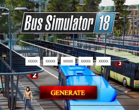 Bus Simulator 18 Serial Key Generator Pc Xbox One Ps4