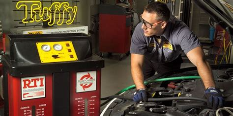 tuffy auto service centers franchise opportunity