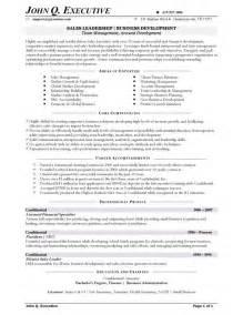 sle of resume executive summary sales resume exle of retail sales resume store manager resume exles exle of retail