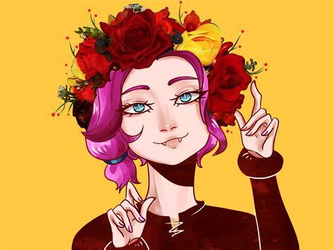 Flower Head Maeve By Adroga Paladins