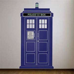 british policebox wall sticker by oakdene designs With best of dr who wall decal