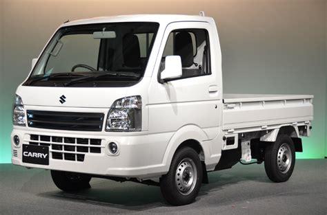 suzuki carry pickup suzuki carry pickup generasi baru meluncur di jepang