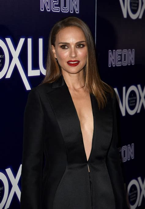 Natalie Portman Vox Lux Premiere Hollywood
