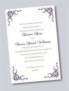 design your own wedding invitations yaseen for With how to print your own wedding invitations at home