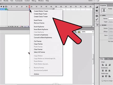 How To Create A Shape Tween In Flash 8 Steps (with Pictures
