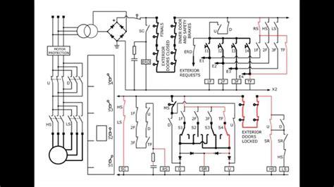 Elevator Circuit Diagram Youtube