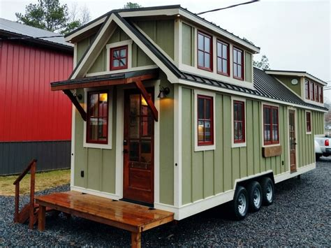 Small Homes : Timbercraft ' Tiny House On Wheels For Sale, Al