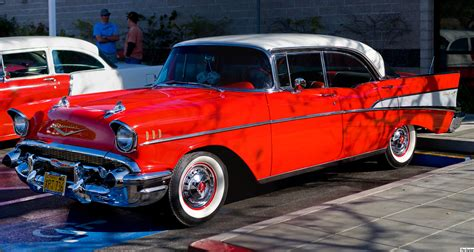 File1957 Chevrolet Bel Air Sport Sedan  Front Leftjpg