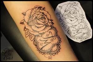 Tatouage De Rose : galerie de tatouages de laurelarth tattoo ~ Melissatoandfro.com Idées de Décoration