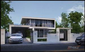 The Simple Modern House by Mayolo Briones at Coroflot.com