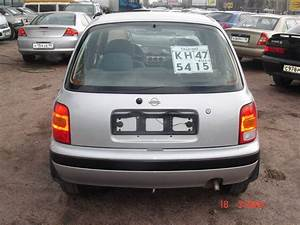 Nissan Micra 2001 : 2001 nissan micra photos 998cc gasoline ff manual for sale ~ Gottalentnigeria.com Avis de Voitures