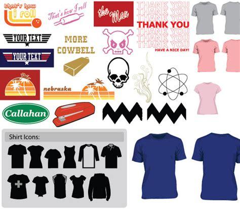 shirt design vektoren  der kostenlosen vektor