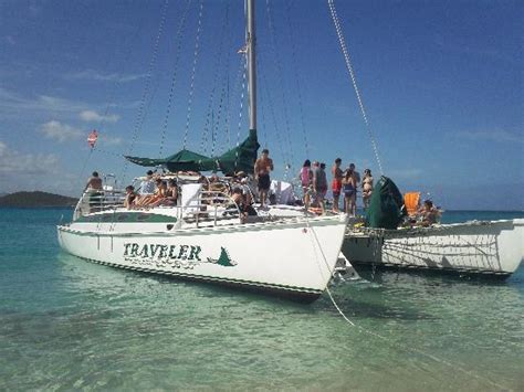 Catamaran Fajardo Icacos by Anchored On Icacos Fotograf 237 A De Traveler Catamaran