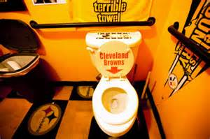 Pittsburgh Steelers Bathroom Decor pittsburgh steelers fans make themselves part of the team