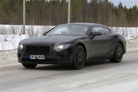 2019 Bentley Continental Gt Latest Spy Shots Less Camo