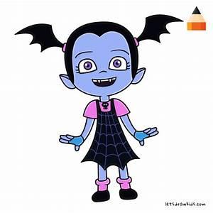 How To Draw Vampirina