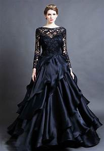 15 beautiful black wedding dresses bridal gowns With dark wedding dresses