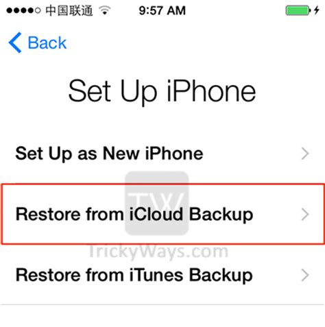 how to restore your iphone from icloud transfer data from iphone to new iphone 6 or 6 plus