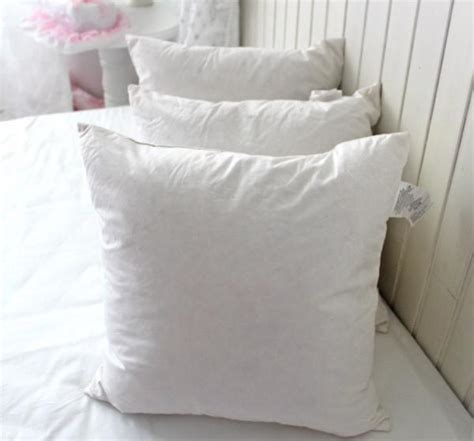down sofa cushion inserts cotton wholesale washable duck feather cushion inserts for
