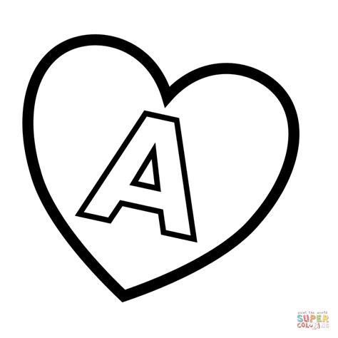 bff disegni amiche facili dibujo de letra a en un coraz 243 n para colorear dibujos
