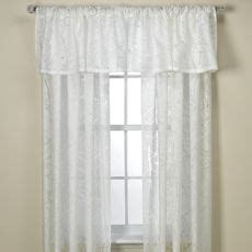 branchbrook sheer window panels and valance bed bath