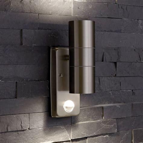 up indoor outdoor wall light pir optional