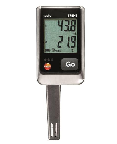 on testo testo 175 h1 temperature and humidity data logger