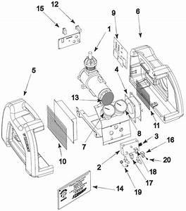 Stinger Recovery Unit Parts  Round Head Compressor