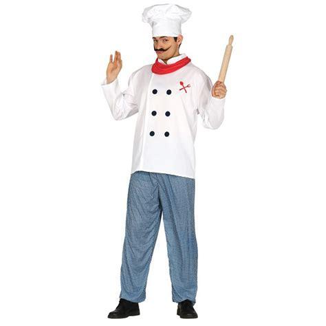 Déguisement Cuisinier Adulte-costume Pas Cher