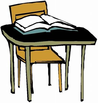 Desk Clipart Children Books Read Vector Eps