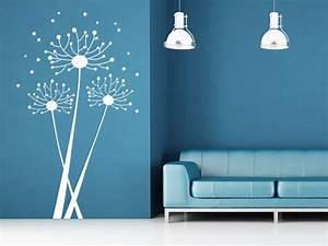 Wandtattoo Pusteblume Weiß : abstrakte pusteblume wandtattoo pusteblume grafisch von ~ Frokenaadalensverden.com Haus und Dekorationen