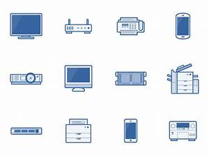 Network Diagram Icons By Andrew J Lee On Dribbble