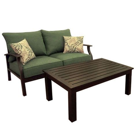 summer winds patio furniture replacement cushions garden patio two seats slider chair with cushion chair