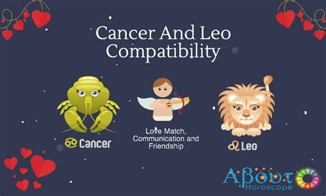 cancer  leo love compatibility friendship