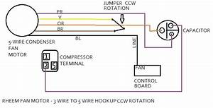 4 Wire Ac Motor Wiring Diagram