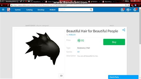 You will get to know how to modify your character as per your choice, and it is appreciable that roblox supports this. Beautiful Hair For Beautiful People Roblox Code