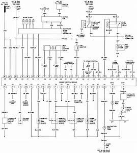 52 - 2 0l  Vin K  Engine Control Wiring Diagram