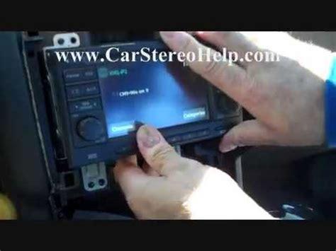 nissan rogue bose stereo radio removal