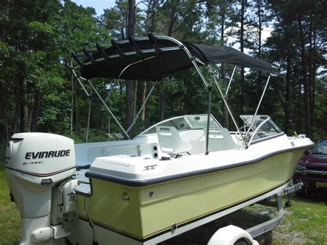 Boat T Top Braces by Found Great Bimini Option The Hull Boating And