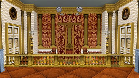 chambre sims 3 mod the sims canopy bed from the chambre du roi