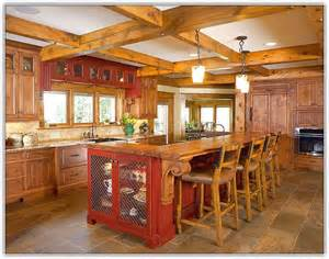 Country Kitchen Island Designs Picture