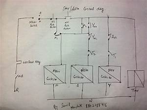 Contactor Wiring Diagram Timer