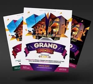 Grand Opening Event Flyer by satgur on DeviantArt